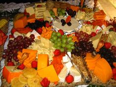 Fruit, cheese and nut spread