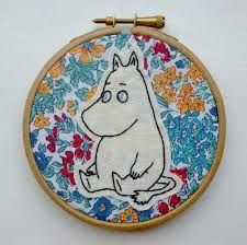 Image result for moomin embroidery