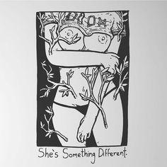 """21k Likes, 71 Comments - Matt Bailey (@baileyillustration) on Instagram: """"She's Something Different."""""""