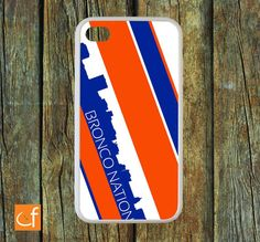 iPhone 4 Case Boise State Broncos WHITE or BLACK by CaseFase, $22.00