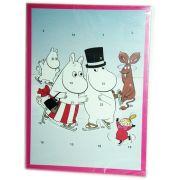 Muumi Adventtikalenterin avulla joulu tulee joutuisammin. Muumi-Joulukalenterista saat joulukuun ensimmäisestä päivästä alkaen pienen suklaisen yllätyken jokaisena päivänä aina jouluaattoon asti. Peanuts Comics, Family Guy, Fictional Characters, Art, Art Background, Kunst, Performing Arts, Fantasy Characters, Griffins