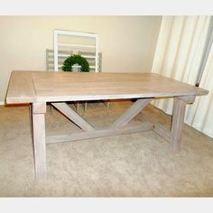 DIY Farm Table (Part I)
