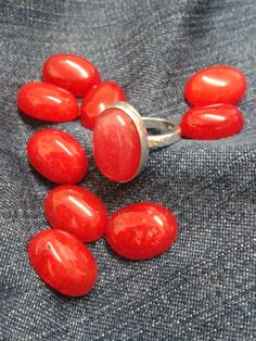 Hey, I found this really awesome Etsy listing at https://www.etsy.com/uk/listing/260314060/holly-berry-red-jade-and-sterling-silver