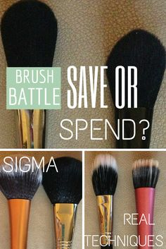 Are high end makeup brushes better than drugstore makeup brushes? Find out!