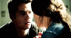 "And the way they look at each other after the kiss. | Community Post: 15 Reasons Why You Should Ship Stydia From ""Teen Wolf"""