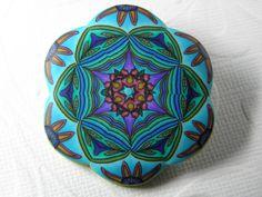 Sun Rising Millefiori Kaleidoscope Brooch. $39.00, via Etsy.