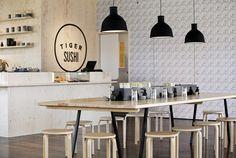 Tiger Sushi at Helsinki designed by Joanna Laajisto