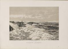 Norge fremstillet i Tegninger - Lars Lauritz Larsen Haaland - Udenfor Jædern. jpg (6080×4360)
