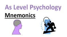 What are mnemonics in psychology? In this lesson we look at what a mnemonic device is and how they are used. Need tutoring or help revising? A Level Revision, Psychology A Level, Memes, Meme