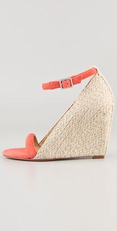 Diane von Furstenberg  Tchad Wedge Sandals  Style #:DIAVF40831  $278.00