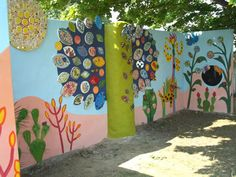 She specialises in art projects for schools, and undertakes high quality commissions, exhibitions, public art and workshops. Children's sensory garden