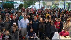Dialoga alcalde de Nuevo Laredo  con vecinos de la colonia Los Fresnos