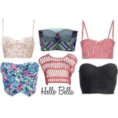 Polyvore: Cropped Corsets   Hello Bella