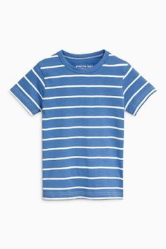 Buy Blue Short Sleeve Bouclé Car T-Shirts Three Pack (3mths-6yrs) from the Next UK online shop