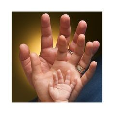 baby picture ideas / hands found on Polyvore