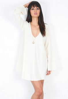 For Love & Lemons Luciana Dress in Ivory..I really want this dress