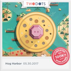 I found the Piglet Pearls and made new friends on the shores of Hog Harbor! - playtwo.do/ts