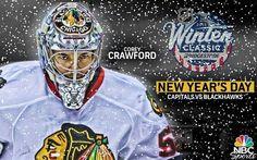 """Is it Thursday yet? Blackhawks Hockey, Hockey Teams, Chicago Blackhawks, Hockey Stuff, Corey Crawford, World Of Sports, Nhl, 2015 Winter, Crow"