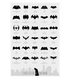 Huckberry | Calm The Ham | Evolution Of Batman Print