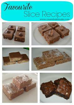 Favourite Slice Recipes | Create Bake Make
