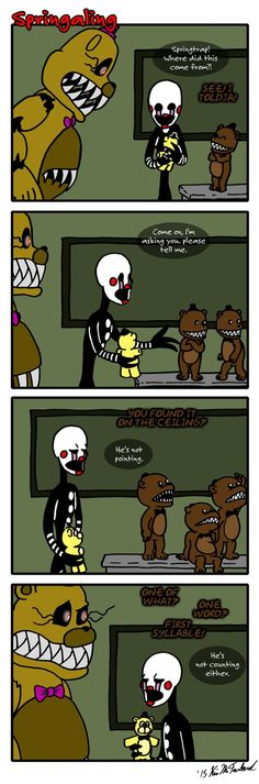 Springaling 70: The Presence of Absence by Negaduck9.deviantart.com on @DeviantArt