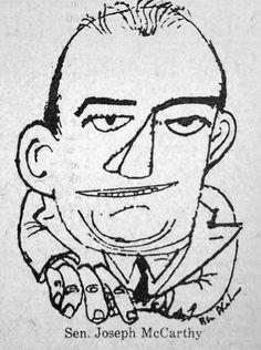 Joe McCarthy illustration by Ben Shahn