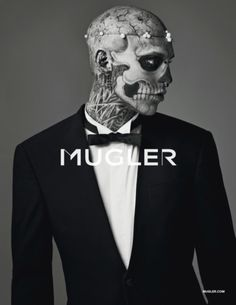 Zombie Boy for Mugler