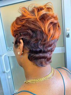 Black Hair Updo Hairstyles, Black Women Short Hairstyles, Short Weave, Quick Weave, Black Girl Hair Cuts, Auburn Ombre, Funky Short Hair, Shot Hair Styles, Hairstylists