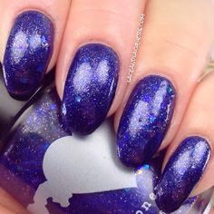 Lace and Lacquers: FORGET ME NOT FRIDAY - Rainbow Honey: Lumine Hall