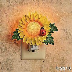 Sunflower Night-Light