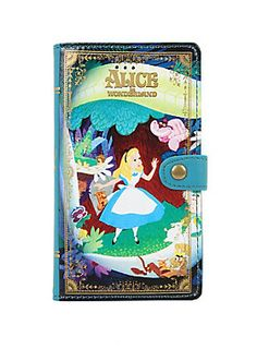 <p>We're all madhere.</p>  <p>Decorate your iPhone 6 Plus or 6S Plus with this whimsical <i>Alice in Wonderland</i> wallet cell case. It's designed like a unique vintage book, features card pockets, an easy-access camera hole, snap-in design and an edge-to-edge access to your touch screen.</p>  <ul> <li>Fits iPhone 6 Plus/ 6S Plus</li> <li>Imported</li> </ul>