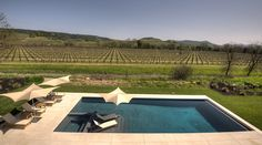Pool with incredible views of #WinceCountry #vineyards #LatifeHayson
