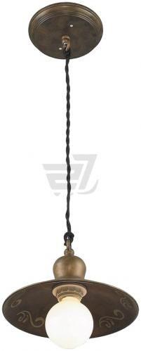 Підвіс  Altalusse  1х40 Вт E27 антична бронза INL-6092Р-21 - фото 1
