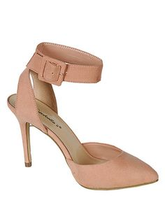 Take a look at this Blush Mavis Pump by Breckelle's on #zulily today!