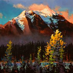 Michael O'Toole, artist, original acrylic paintings at White Rock Gallery Canadian Painters, Canadian Artists, Landscape Art, Landscape Paintings, Seascape Paintings, Acrylic Paintings, Painting Art, Mountain Paintings, Environment Concept Art