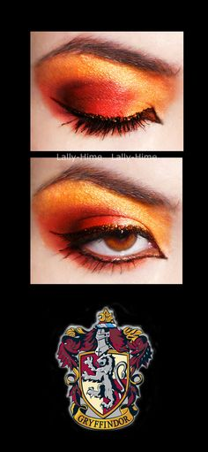 Gryffindor Make Up by ~Lally-Hime on deviantART