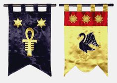 Medieval Flags and Banners Pattern | ... of Arms in the heraldic tradition of a fine medieval banner/Gonfalon