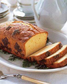 Pound Cake Recipes // Scented Geranium Pound Cake Recipe