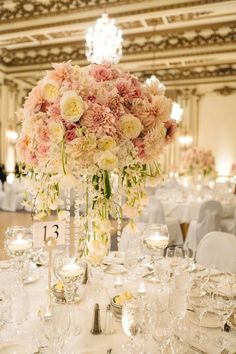 Elegant blush and gold wedding