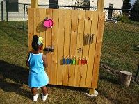 5 ideas for outdoor music play- I am definitely going to include one of these in my back yard.... Neighbors may hate it............... kids will LOVE it!!!