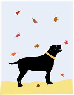 94 Best Labrador Silouhettes Images In 2019 Dog Art