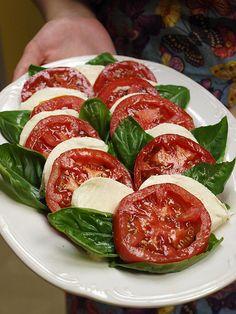 Formal Dinner:  Easy Caprese Salad