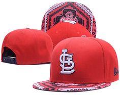 b0a3cedd4ac6f St. Louis Cardinals Kaleidovize Snapback Hats