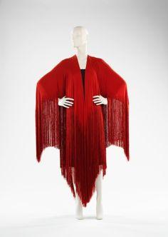 Madeleine Vionnet evening shawl ca. 1925 via The Costume Institute of the Metropolitan Museum of Art