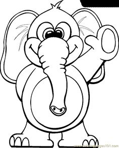 animal coloring page mammals zoo animals printable