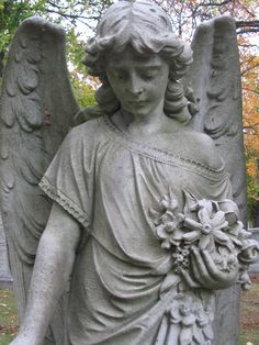 Photo by Aspasia B. Cemetery Angels, Cemetery Statues, Angel Statues, Weeping Angels, Old Cemeteries, Frozen In Time, Mount Pleasant, Beautiful Landscapes, Bodies