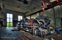URBEX: Power plant 5of7 by wchild