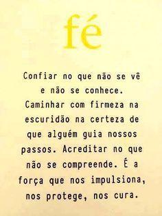 Vivo assim, com Fé! Word Express, Good Vibes, Feelings, Words, Instagram Posts, Vivo, Mary, Home, Optimism