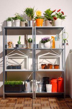 Invernaderos, plantas...decoración para balcones y terrazas