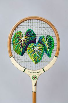 Danielle Clough racket embroidery (source)